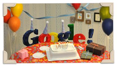 Google 13 岁生日啦!