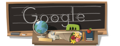 Google Logo: 2011 Teacher Day - Thank you for your great teaching !