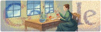 居里夫人 144 周年诞辰