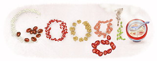 Google Logo: Laba festival and the Laba Congee.