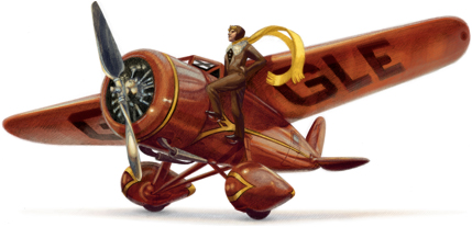 第一位独自飞越大西洋的女飞行员 Amelia Earhart 115周年诞辰