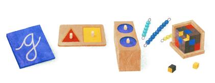 蒙特梭利实验教育创始人 Maria Montessori 142岁诞辰