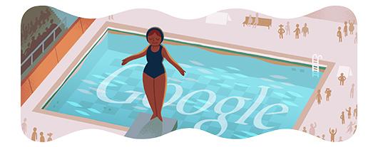 Google Doodle: 跳水[奥运特辑]
