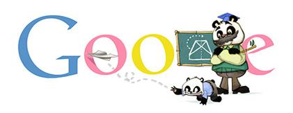 Google Logo: 2012 Teacher's Day in China