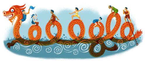 Google Doodle:大家,端午节快乐!