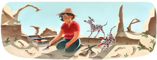 英国考古学家,人类学家玛丽·李奇诞辰一百周年