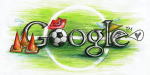 Google Logo: Doodle 4 Google 'I Love Football' National Winner - Hong Kong