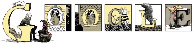 美国插画家 Edward Gorey 88 周年诞辰