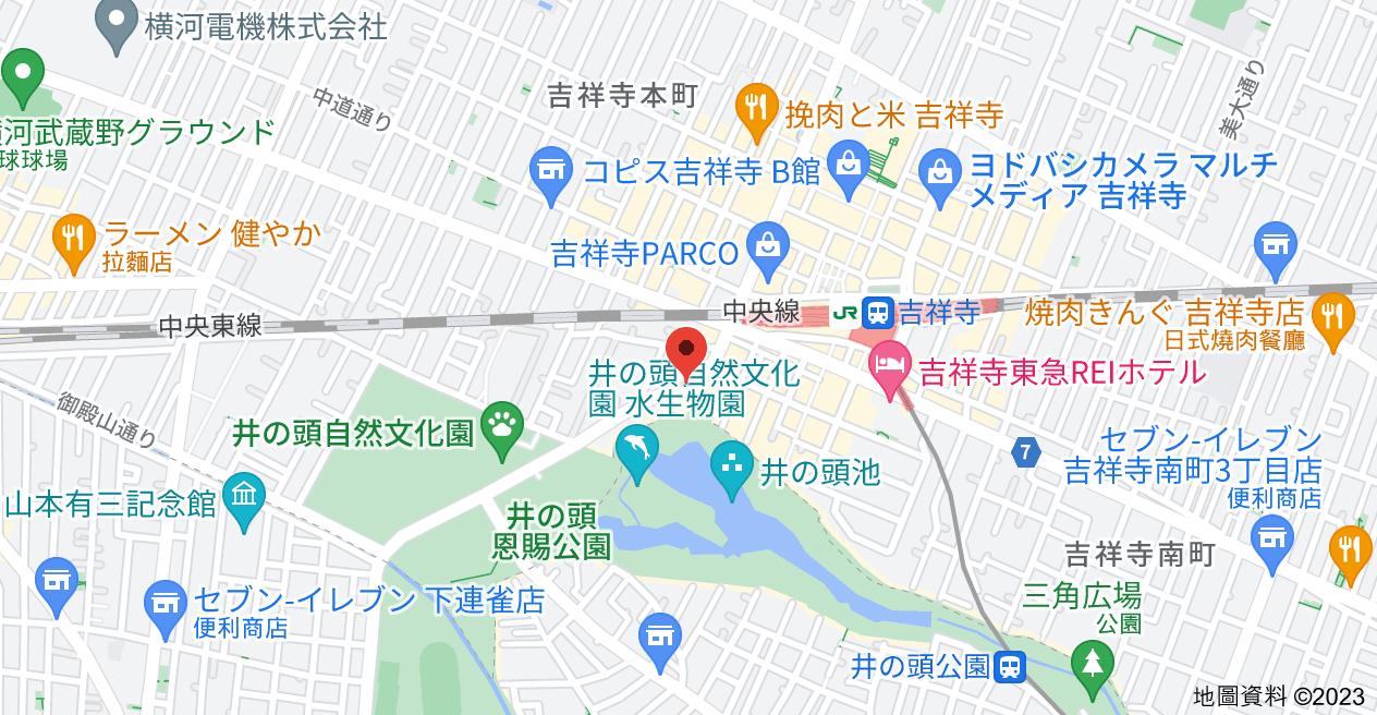 日本〒180-0005 Tōkyō-to, Musashino-shi, Gotenyama, 1 Chome−3−8 ジョージパークハイツ地圖