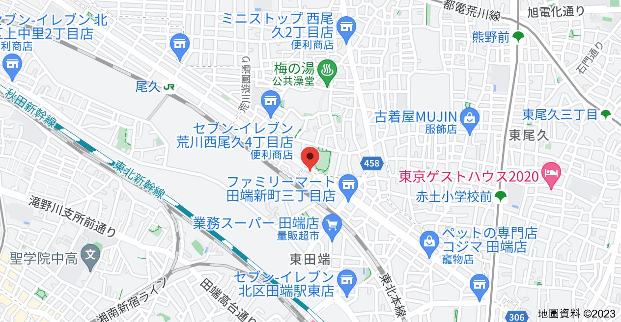 日本〒114-0012 Tōkyō-to, Kita-ku, Tabatashinmachi, 3 Chome−18−7 ニューファミール田端地圖
