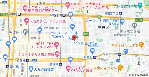日本〒542-0081 Ōsaka-fu, Ōsaka-shi, Chūō-ku, Minamisenba, 1 Chome−7−8 ダイアパレス順慶町地圖