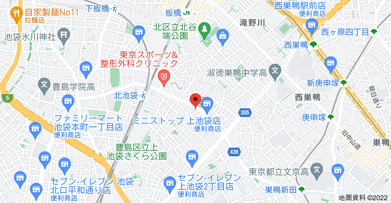 日本〒170-0012 Tōkyō-to, Toshima-ku, Kamiikebukuro, 3 Chome−45−7 扶桑ハイツ池袋地圖