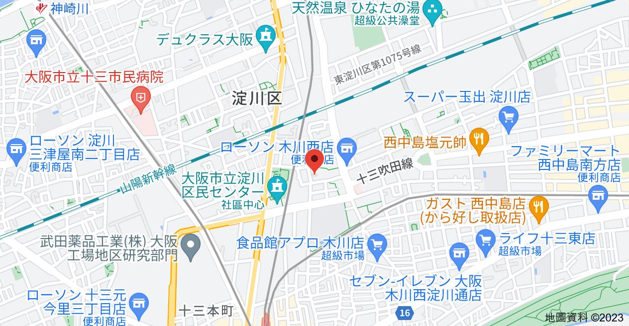 日本〒532-0022 Ōsaka-fu, Ōsaka-shi, Yodogawa-ku, Nonakaminami, 1 Chome−6−12 メゾン・ド・ソフィー地圖