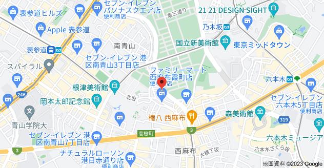 日本〒106-0031 Tōkyō-to, Minato-ku, Nishiazabu, 2 Chome−7−3 ストーク西麻布地圖