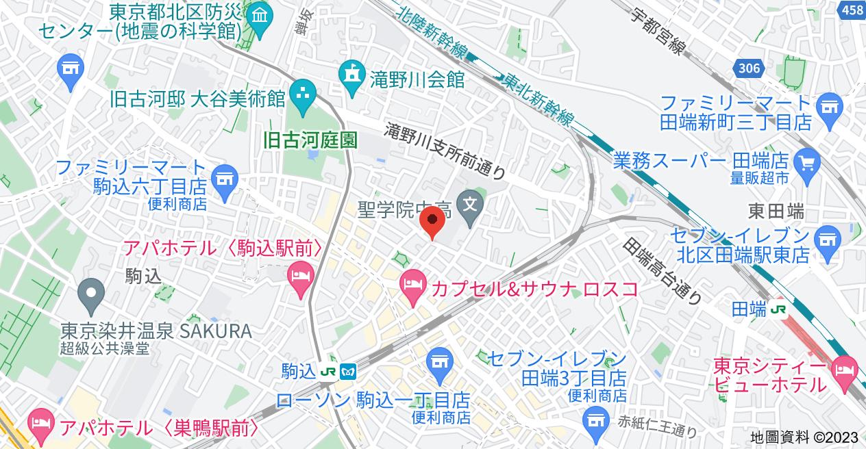 日本〒114-0015 Tōkyō-to, Kita-ku, Nakazato, 2 Chome−22−7 駒込オリエントコート地圖