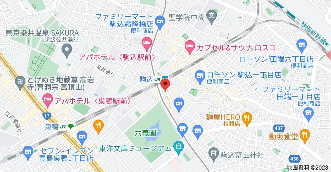 日本〒170-0003 Tōkyō-to, Toshima-ku, Komagome, 1 Chome−42−2 ライオンズマンション駒込駅前地圖