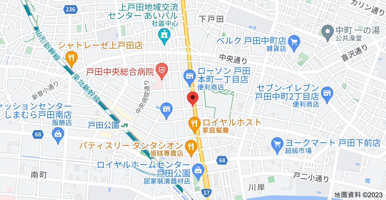 日本〒335-0023 Saitama-ken, Toda-shi, Honchō, 1 Chome−5−1 スカイコート戸田公園地圖